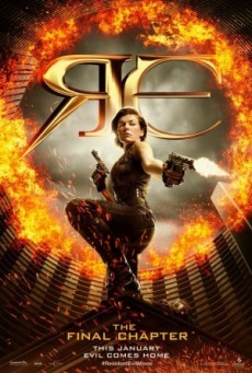 Resident Evil The Final Chapter อวสานผีชีวะ